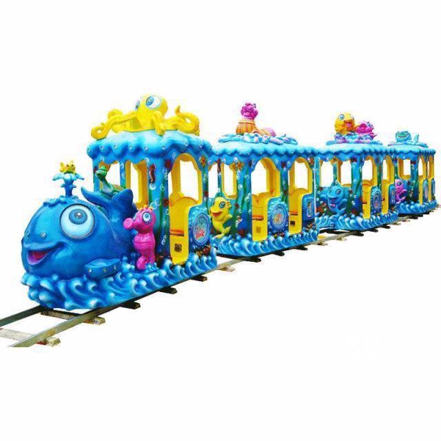 海洋派对儿童轨道火车